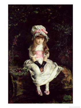 Cherry Ripe, 1879 by John Everett Millais