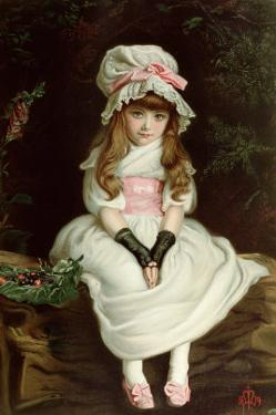 Cherry Ripe by John Everett Millais