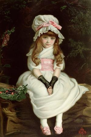 Cherry Ripe by John Everett Millais