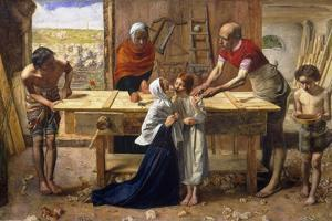 Christ in the House of His Parents (The Carpenter's Shop) by John Everett Millais