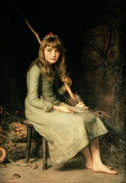 Cinderella, 1881 by John Everett Millais