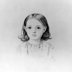 Fanny Lynn, 1852 by John Everett Millais