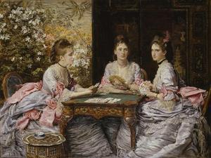 Hearts are Trumps by John Everett Millais