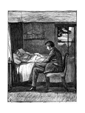 Illustration for the Poem Last Words by Owen Meredith, 1860 by John Everett Millais
