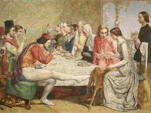 Isabella, 1849 by John Everett Millais