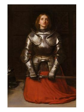 Joan of Arc by John Everett Millais