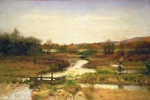 Lingering Autumn, 1890 by John Everett Millais
