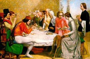 Lorenzo and Isabella by John Everett Millais