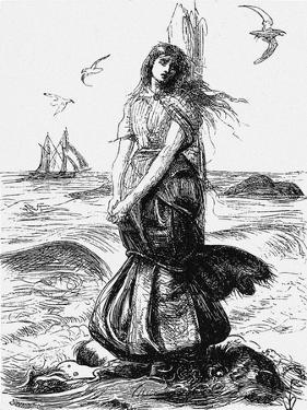 Margaret Wilson, 1862 by John Everett Millais