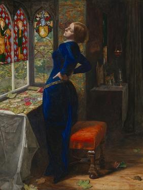 Mariana by John Everett Millais