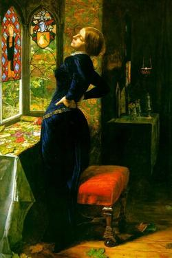 Marianna in the Moated Grange by John Everett Millais