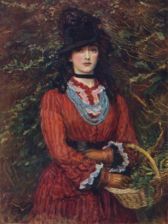 Miss Eveleen Tennant, 1874 by John Everett Millais