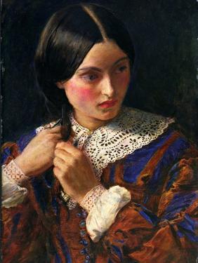Only a Lock of Hair, C.1857-58 by John Everett Millais