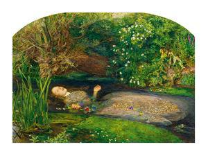 Ophelia, 1851-52 by John Everett Millais