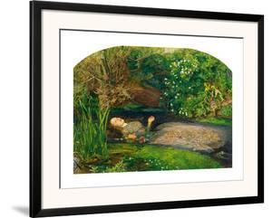 Ophelia, 1851-52 by John Everett Millais