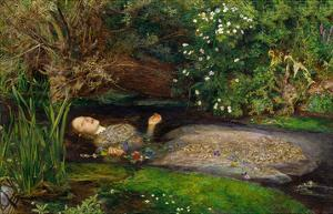 Ophelia, ca. 1851 by John Everett Millais
