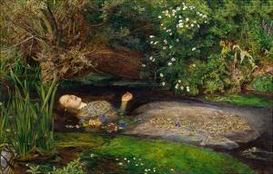Ophelia, ca. 1851 by John Everett Millais