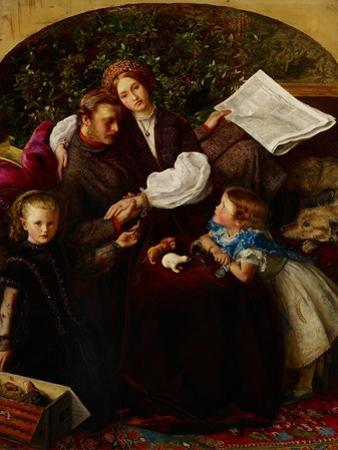 Peace Concluded, 1856 by John Everett Millais