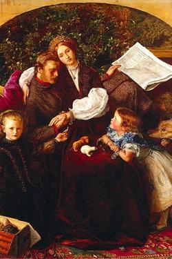 Peace Concluded by John Everett Millais