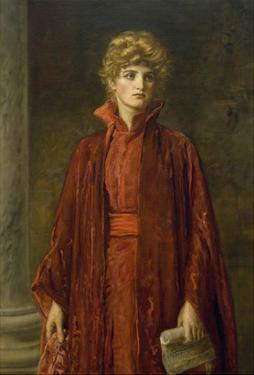Portia (Kate Dolan) by John Everett Millais
