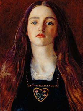 Portrait of a Girl, 1857 by John Everett Millais