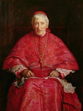 Portrait of Cardinal Newman by John Everett Millais