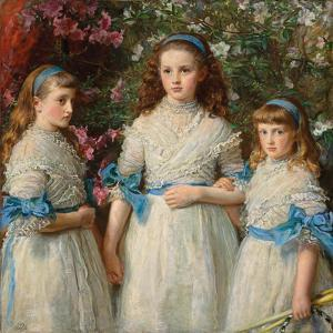 Sisters, 1868 by John Everett Millais