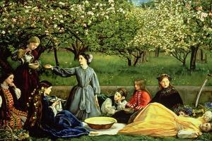 Spring (Apple Blossoms) 1859 by John Everett Millais