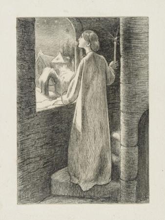 St Agnes Eve by John Everett Millais