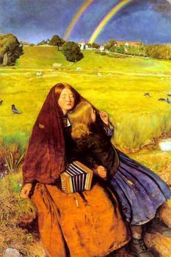 The Blind Girl by John Everett Millais