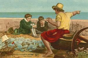 The Boyhood of Sir Walter Raleigh by John Everett Millais