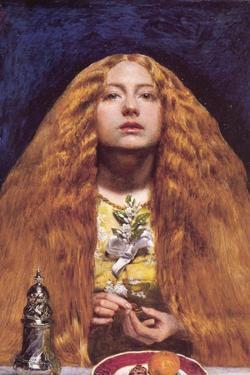 The Bridesmaid by John Everett Millais