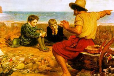 The Childhood of Raleigh by John Everett Millais