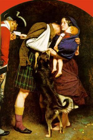 The Order of Release 1746 by John Everett Millais