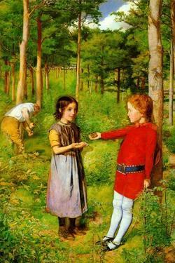The Woodman's Daughter by John Everett Millais