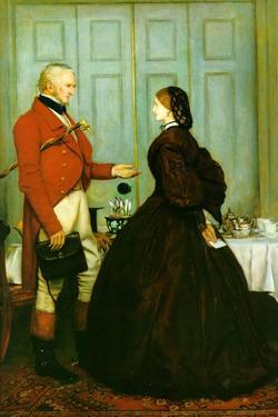 Trust Me by John Everett Millais