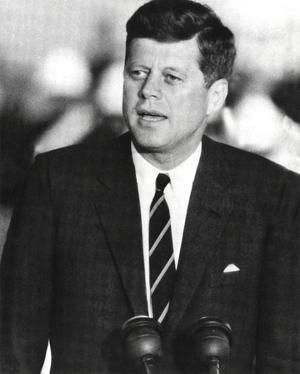 John F. Kennedy J.F.K. (Speaking) Photo Print Poster