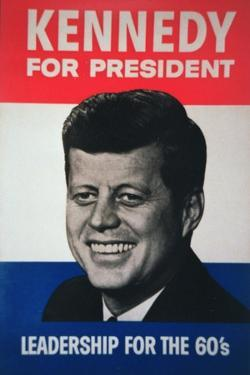 John F. Kennedy Presidential Election Campaign Poster, 1960
