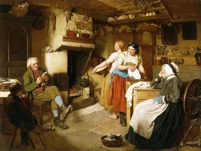 A Family in an Interior
