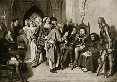 James Iv in Council before the Battle of Flodden, 1513