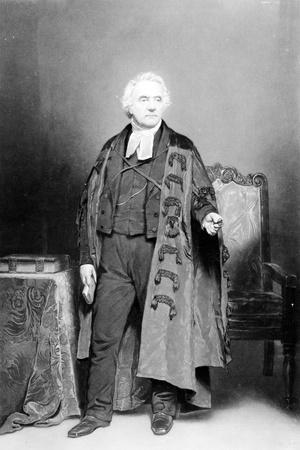 Thomas Chalmers, Engraved by James Faed, 1849