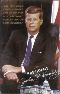John Fitzgerald Kennedy President of the USA 1961-1963