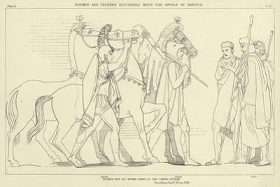 Diomed and Ulysses Returning with the Spoils of Rhesus by John Flaxman