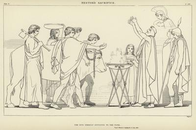 Nestor's Sacrifice by John Flaxman