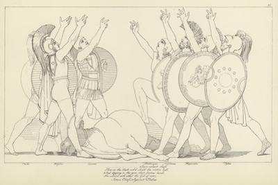 Seven Chiefs Against Thebes by John Flaxman