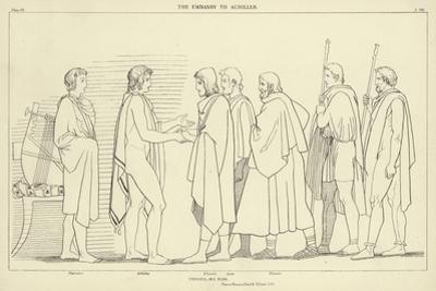 The Embassy to Achilles by John Flaxman