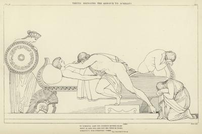 Thetis Bringing the Armour to Achilles by John Flaxman