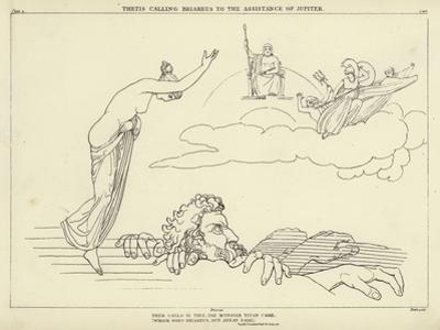 Thetis Calling Briareus to the Assistance of Jupiter by John Flaxman