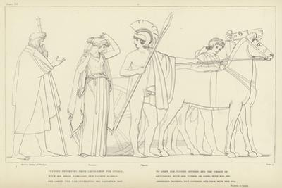 Ulysses Departing from Lacedaemon for Ithaca by John Flaxman