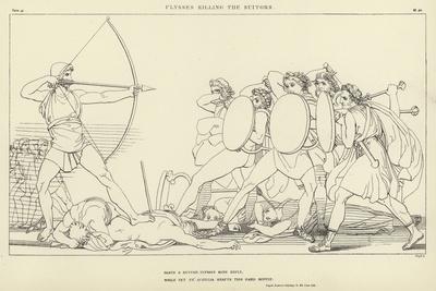 Ulysses Killing the Suitors